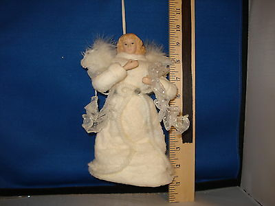 Tree Topper Angel with star feather and felt 921345 518