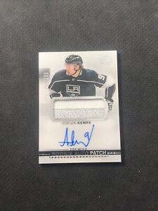 2017-18-UPPER-DECK-PREMIER-ADRIAN-KEMPE-ROOKIE-AUTO-PATCH-SILVER-ed-219-299