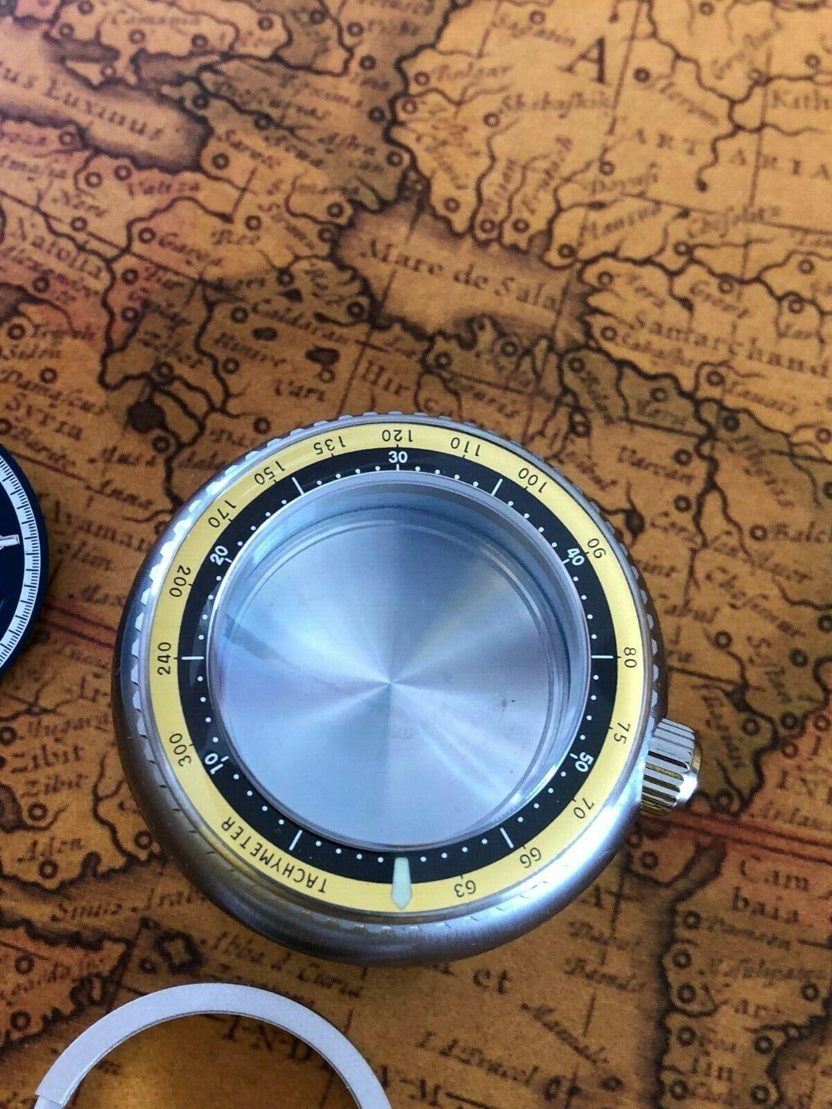 Uhrengehäuse Automatik 2824-2 Swiss Made Taucher 300M Sapphirglas ALL S STEEL