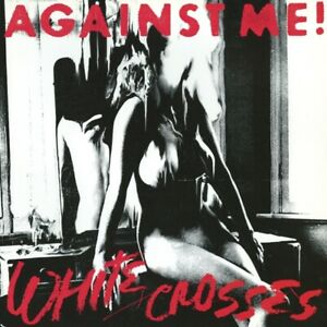 AGAINST-ME-WHITE-CROSSES-COLOURED-VINYL-LP-NEU