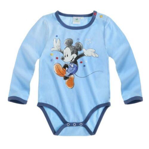 62-92 Langarm Gr blau Disney Mickey Body
