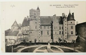 741-Antica-Cartolina-Bourges-Palais-Jacques-Cuore-303