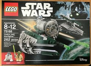 LEGO-Star-Wars-Yoda-039-s-Jedi-Starfighter-75168-New-and-Sealed-Mint-Box