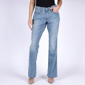 Levi-039-s-515-Bootcut-Mid-rise-hellblau-Damen-Jeans-28-30