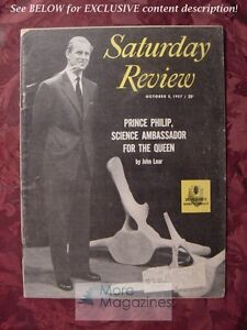 Saturday-Review-October-5-1957-PRINCE-PHILIP-ARTHUR-C-CLARKE-ELMO-ROPER