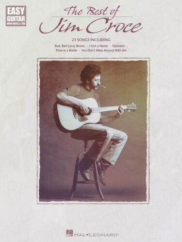 The Best of Jim Croce Sheet Music Easy Guitar Book NEW 000702145