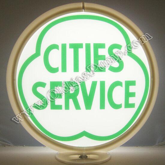 CITIES SERVICE GASOLINE GAS PUMP GLOBE G-114