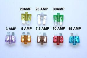 3A 3 Amp Mini Small Car Fuse Auto Blade Fuse