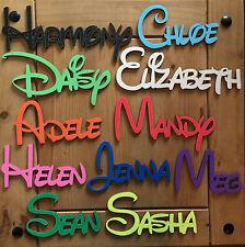 Kids door plaque bedroom plaque Personalised Names Wedding/Home/Gift letters