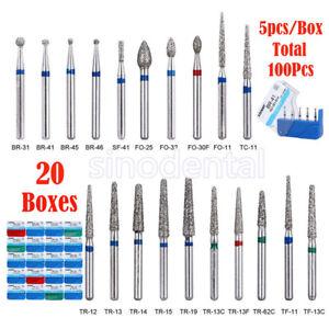 100pcs-Dental-Diamond-Burs-for-High-Speed-Handpiece-Medium-FG-1-6M-20-boxes