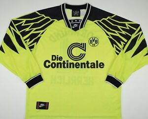 a0c0e652d Image is loading 1994-1995-BORUSSIA-DORTMUND-NIKE-HOME-FOOTBALL-SHIRT-