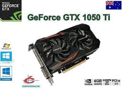 Computer Components GTX1050Ti 4GB DDR5 128Bit HDMI VGA DVI Video Card For NVIDIA