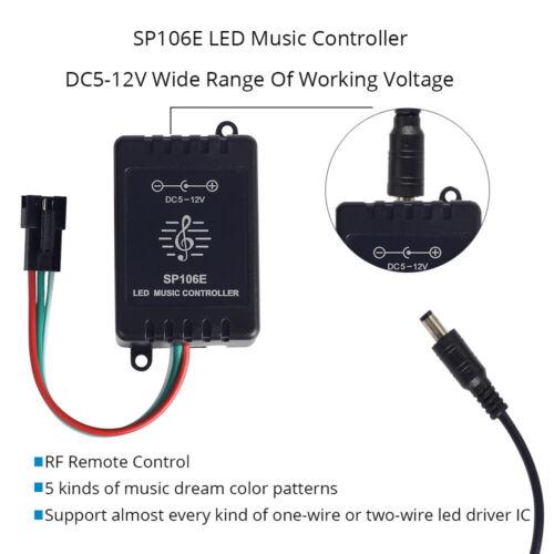 wifi Bluetooth WS2811 WS2812B SK6812 RGB//RGBW APA102 Led Pixel Musik Controller