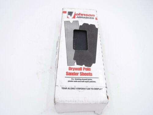 "Johnson Abrasives Drywall Pole Sander Sheets 100 Sheets B0307 4 3//16"" X 11 1//4"""