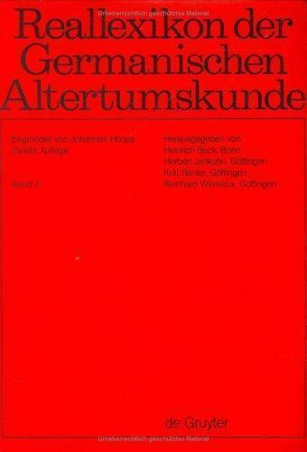 Reallexikon Der Germanischen Altertumskunde: Brunnen-Chronologie (German Edition