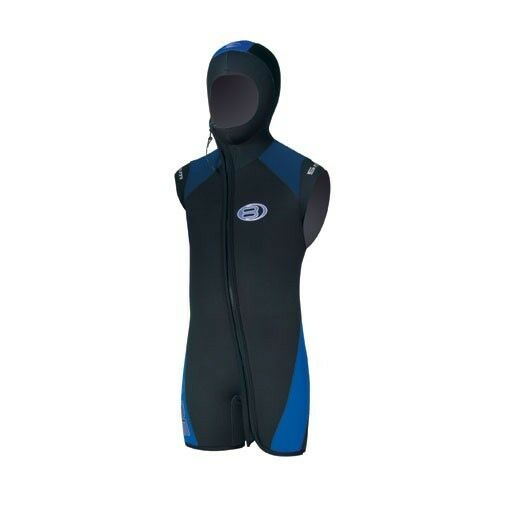BARE JUNIOR 5mm Velocity Step-in Hooded Vest Youth Scuba Diving Wetsuit Dive 16