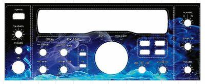 Galaxy DX 959 Face Plate Decal CB Radio any Design//Color Uniden Cobra Connex