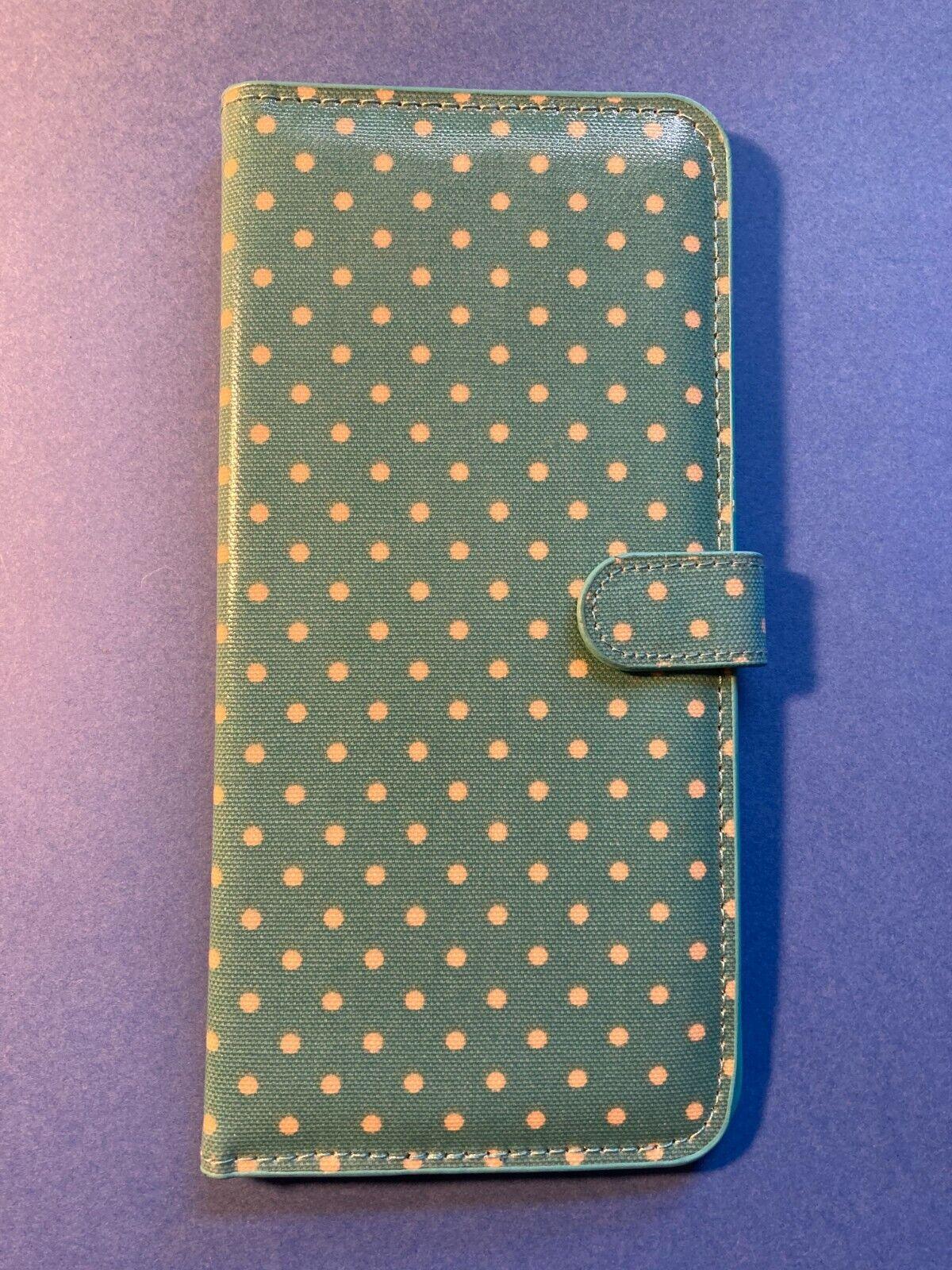 Cath Kidston Travel Document Wallet Passport Sleeve - Light Grey Ditsy Floral