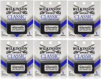 Wilkinson Sword Classic Double Edge Razor Blades (6 Packs Of 5 = 30 Blades) on Sale