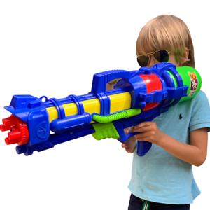 "26.5/"" Large Water Gun Pump Action Super Soaker Sprayer Outdoor Beach Garden Toy"
