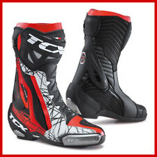 8.5 TCX ROADSTER 2 AIR SPORTBIKE MOTORCYCLE BOOT WHITE//BLUE 42