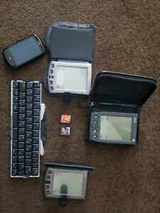 Palm Pilot PDA Lot, IIIe, Vx, Palm Pre CDMA Game Essentials & Rayman Card