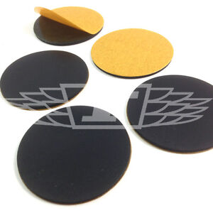 40mm SELF ADHESIVE RUBBER DISCS SLIP RESISTANT CHAIRS BEDS FURNITURE LAMINATE