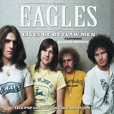 THE EAGLES New Sealed 2017 UNRELEASED  LIVE 1973 & 74 CONCERTS CD