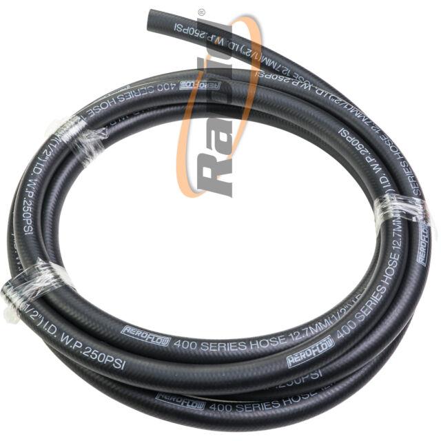 Aeroflow 3m 400 Series Black Push Lock Hose -5AN