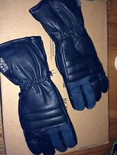 Motorcycle Gauntlet Gloves Leather Inserts Sheepskin