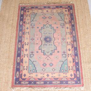 Vintage Afghan Kilim Rug 202 X 131 8 Cm