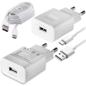 Huawei-2-Pines-Eu-2A-Principal-Cargador-de-Pared-Tipo-C-Cable-para-P9-P10-Plus