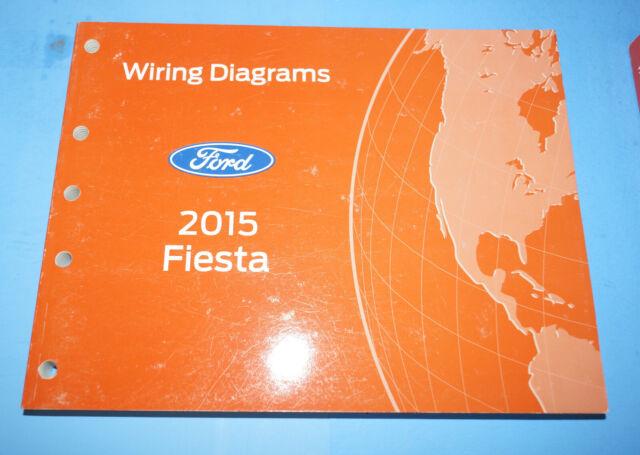 2015 Ford Fiesta Oem Evtm Factory Wiring Diagrams Repair Manual