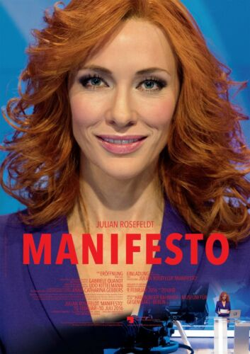 Manifesto Cate blanchett Movie Poster 2015 HQ Art Print 21×14 24×36 27×40 48×32/""