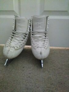 230c Edea Ice Fly Figure Skates With Mk Blades Ebay