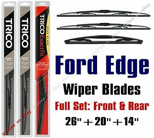Image Is Loading   Ford Edge Wipers Pk Standard Wiper