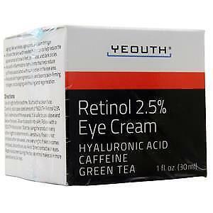 Yeouth Retinol 2 5 Eye Cream 1 Fl Oz 671315019294 Ebay