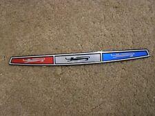 New Repro. 1967 Galaxie 500 Trunk Ornament Emblem Foil Insert XL LTD
