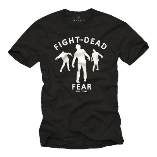 Walking zombies señores t-shirt Fear Dead halloween horror nerd Big Bang Theory