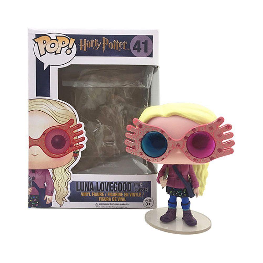 Funko Pop 41 Harry Potter Luna Lovegood With Glasses Figure