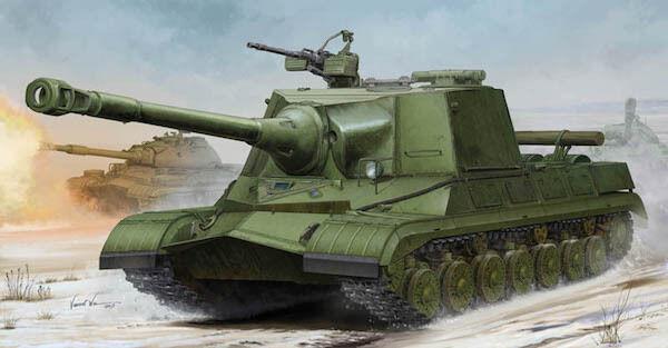 Trumpeter 1 35 Soviet Object 268 Heavy Tank Predotype