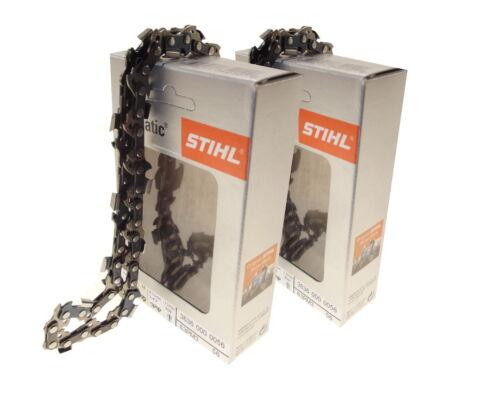 2x40cm Stihl Picco Micro Kette für Black/&Decker GK1640T Motorsäge Sägekette 3//8P