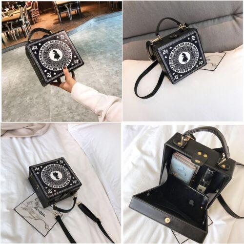New Hot Alice in Wonderland Lolita Gothic Shoulder Messenger Bag Handbag Gift