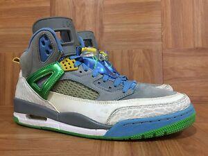 innovative design 37a72 edec5 Image is loading RARE-Nike-Air-Jordan-Spizike-Stealth-Poison-Green-