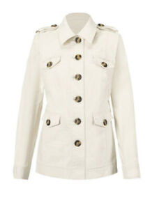 NWT-Cabi-Kenya-Jacket-Size-Medium-M-5659-Spring-2020-Retail-164-Off-White