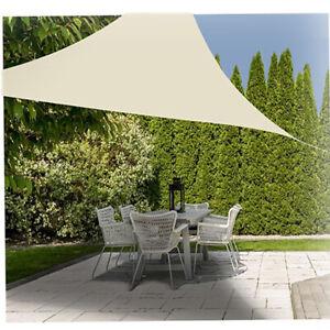 Tenda parasole a vela per terrazzo giardino gazebo protezione uv waterproof 3x3m
