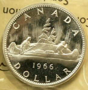 1966-Canada-1-Dollar-ICCS-PL-65-Heavy-Cameo-Large-Beads-3373