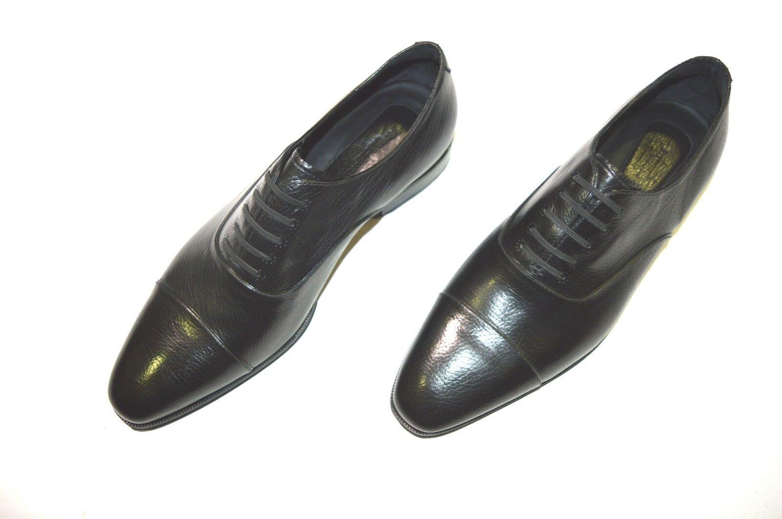 Nuevo STEFANO RICCI Cuero Zapatos Talla nos 9 (COD S202)