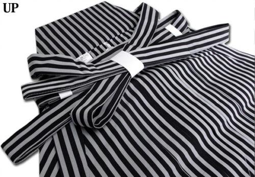 Japanese Men/'s Traditional Kimono HAKAMA Pants Polyester Striped from JAPAN