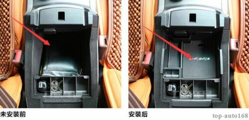 Central Storage Organizer Armrest Container Box For Ford Explorer 2016